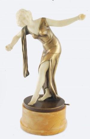 Max SCHUMACHER (1885-?), Figura tancerki z kastanietami