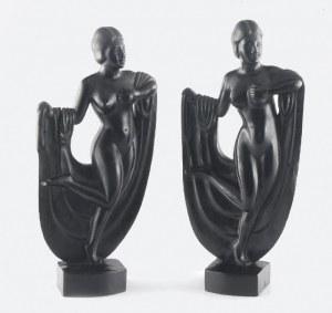 Para figur kobiecych
