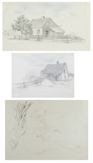 Tadeusz GRONOWSKI (1894-1990), Zestaw 10 prac i okładek