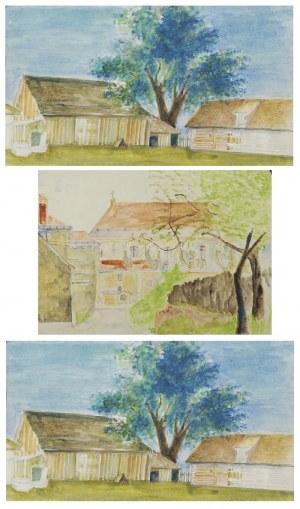 Tadeusz GRONOWSKI (1894-1990), Zestaw 8 akwarel