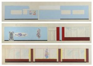 Tadeusz GRONOWSKI (1894-1990), 5 projektów sal dla Orbisu