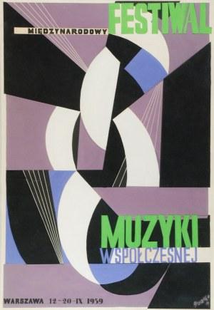 Tadeusz GRONOWSKI (1894-1990), Międzynarodowy Festiwal Muzyki Współczesnej, 1959