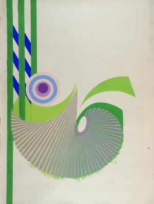 Tadeusz GRONOWSKI (1894-1990), Kompozycja zielona, lata 80-te XX w.