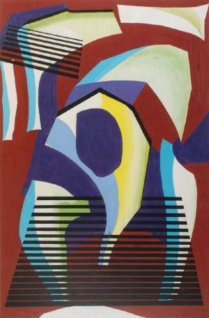 Tadeusz GRONOWSKI (1894-1990), Kompozycja 7 - kubizująca, 1968