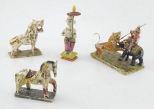 Zestaw 4 figurek pełniących funkcję dziecięcych zabawek