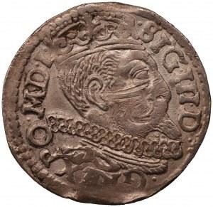 Zygmunt III Waza - trojak Poznań 1599 - z gwiazdkami, bez kropek