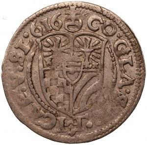 ŚLĄSK - Oleśnica - Karol II - 3 krajcary 1616
