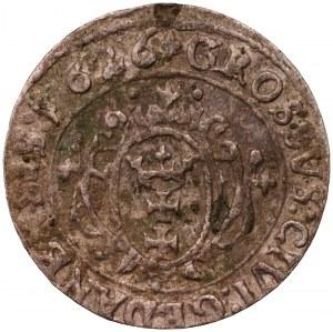 ZYGMUNT III WAZA - grosz 1626 Gdańsk