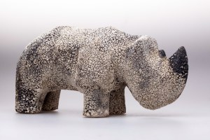 Jakub Niewdana, Mały Nosorożec, z serii Safari, 2018