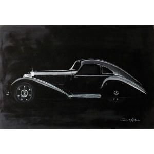 Sebastian Kijak, Mercedes Benz 540 K, 2018