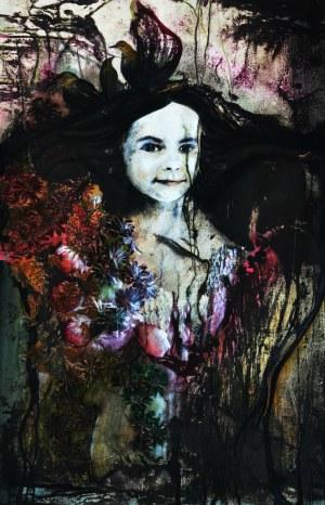 Aneta Kowalczyk, W deszczu kwiatów, 2018