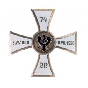 Odznaka 74 Górnośląski Pułk Piechoty