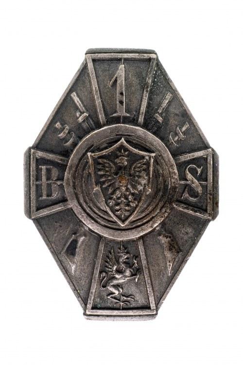 Odznaka 1 Batalionu Strzelców Chojnice