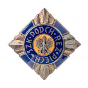 Odznaka Szkoła Podchorążych Rezerwy Piechoty I wzór
