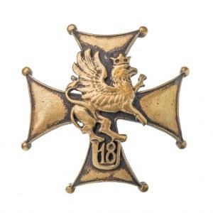 Odznaka 18 Pułk Ułanów Pomorskich Grudziądz - żołnierska