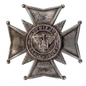 Odznaka 4 Dywizjon Samochodowy - Łódź
