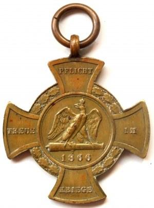 Krzyż Pamiątkowy Za Wojnę z Austrią 1866