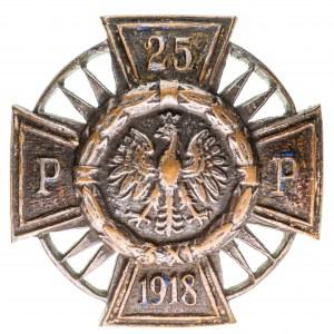 Odznaka 25 Pułk Piechoty (Piotrków Trybunalski)