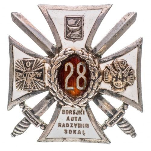 Odznaka 28 Pułk Piechoty