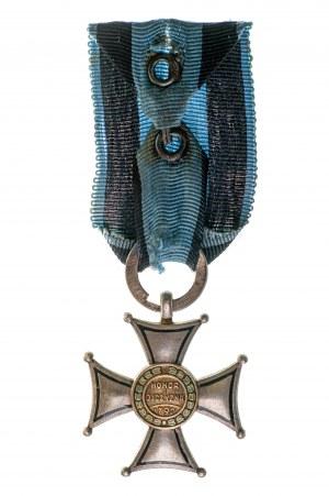 Krzyż Virtuti Militari, wykonanie moskiewskie - grube napisy
