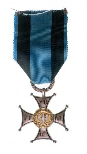 Krzyż Virtuti Militari klasy V wraz z legitymacją