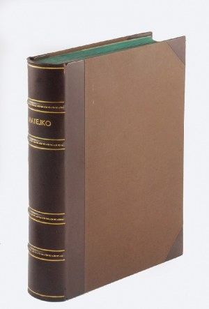 Jan MATEJKO (1838-1893), Osobowość artysty, twórczość, forma i styl