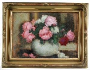 Alfons KARPIŃSKI (1875-1961), Róże mieszane, ok. 1933