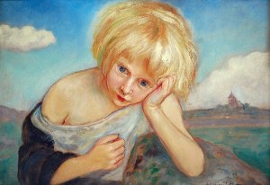 Wlastimil HOFMAN (1881-1970), Nostalgia, 1924