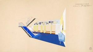 Tadeusz Gronowski (1894-1990), Projekt hallu I-ego piętra
