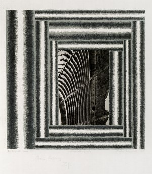 Zofia Artymowska (1923-2000), Multiplied Space VIII, 1981