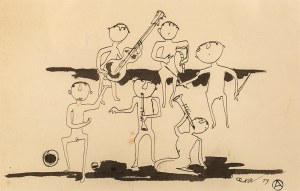 Otto Axer (1906-1983), Koncert, 1973