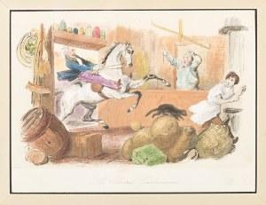 Henry Thomas Alken (1785-1851), Le Cheval Gastronome, XIX wiek
