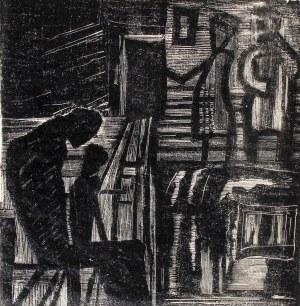 Janina Kamińska, Poczekalnia, 1955 r.