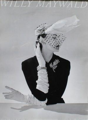 Willy Maywald, Plakat Willy Maywald Chapeau Fath / Paris 1951, lata 80 XX wieku