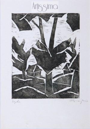 Stefan Szmaj (1893–1970) , Topole IV, 1957*