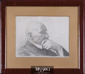 Leon Wyczółkowski (1852–1936), Autoportret, 1916