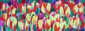 Beata Murawska (ur. 1963, Warszawa), Star tulips, 2018 r.