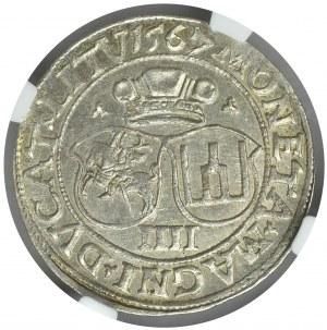 Zygmunt II August, Czworak 1567 Wilno