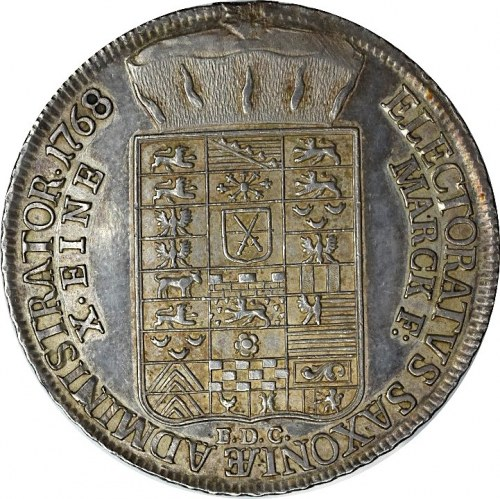 Saksonia, Ksawery, Talar 1768 Drezno