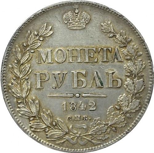 Rosja, Mikołaj I, Rubel 1842