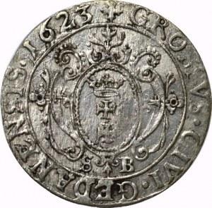 Zygmunt III Waza, Grosz 1623 S.B. Gdańsk