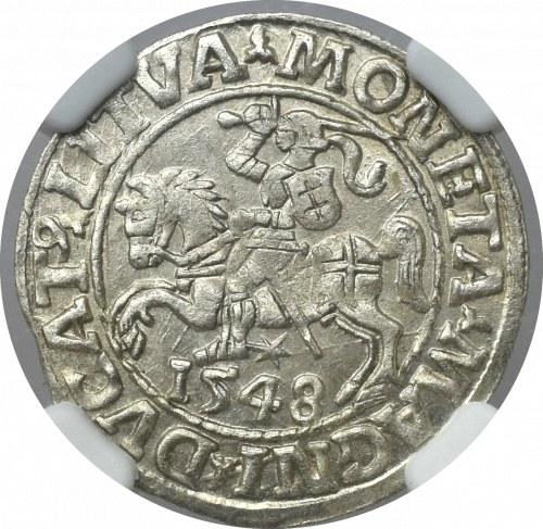 Zygmunt II August, Półgrosz 1548 Wilno