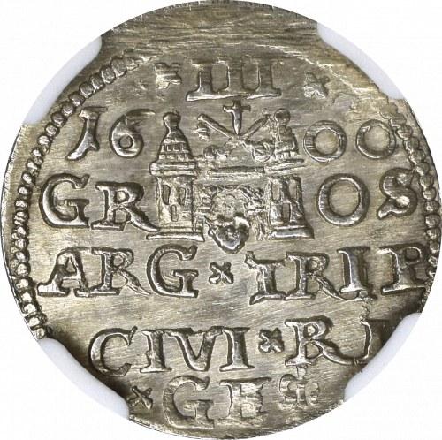 Zygmunt III Waza, Trojak 1600 Ryga