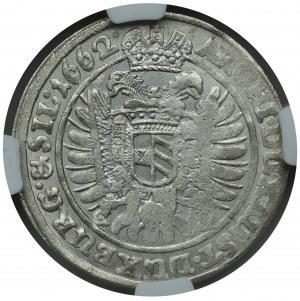 Śląsk, Leopold I, 15 Krajcarów 1662 Wrocław