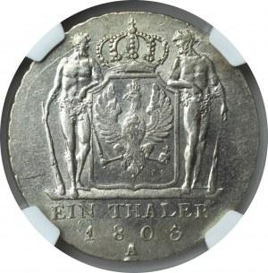 Niemcy, Fryderyk Wilhelm III, Talar 1803 A Berlin - NGC MS61