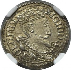 Zygmunt III Waza, Trojak 1597 Olkusz