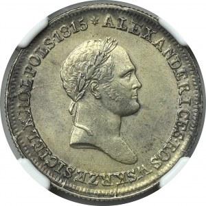 Królestwo kongresowe, Aleksander I, 2 złote FH 1830 - NGC AU58