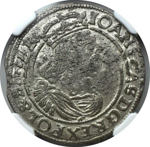 Jan II Kazimierz, Szóstak 1663 AT Bydgoszcz