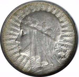 II Rzeczpospolita, 2 złote 1932 Głowa kobiety - GCN MS63