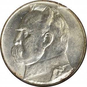 II Rzeczpospolita, 10 złotych 1938 Piłsudski - GCN MS65
